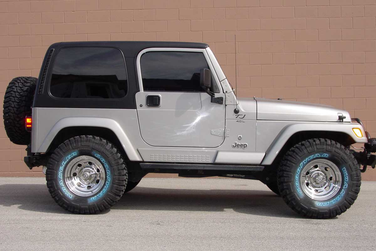 Jeep yj tires size