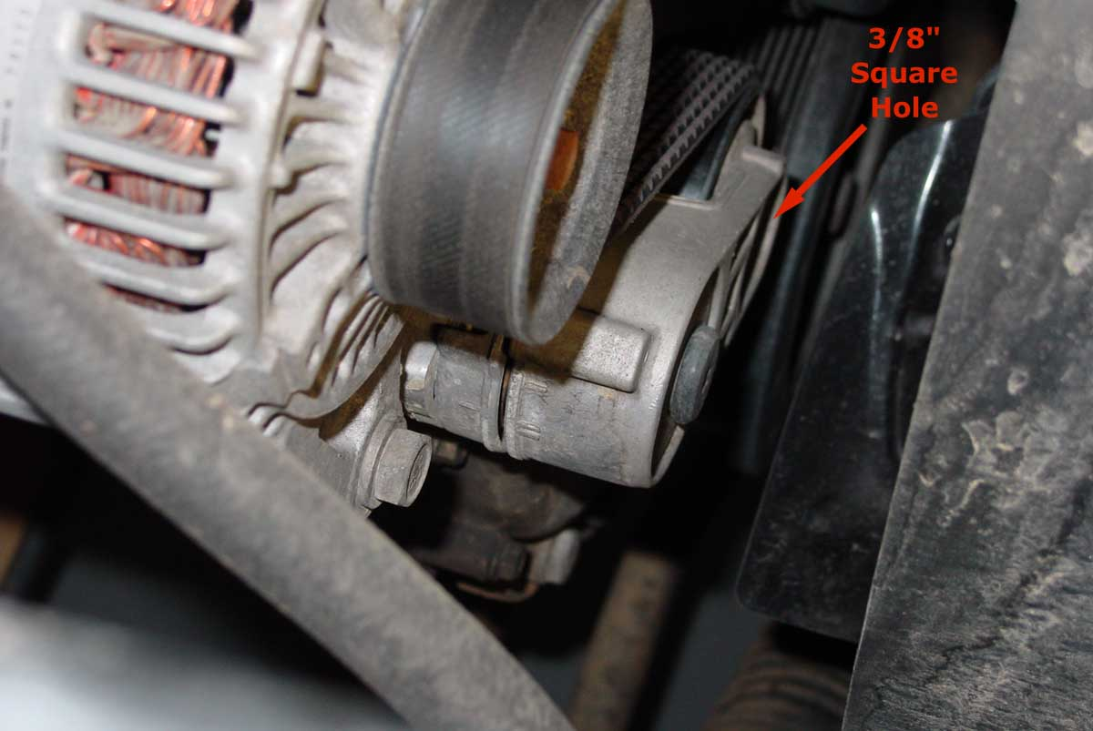 Jeep 4 0l Serpentine Belt Replacement